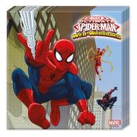 20 Servietten Spiderman