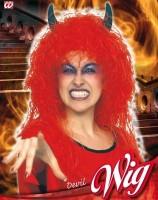 Perücke Teufel-Lady