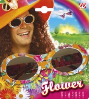 Brille Hippieblume