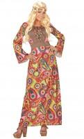 Langes Hippiekleid XL