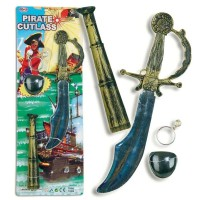 Fasnacht Piraten-Set 4-tlg.