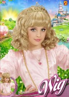 Blonde Prinzessinperücke