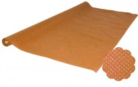 Tischtuchrolle Vlies orange