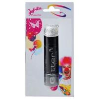 JOFRIKA Lippenstift Glitter, silber