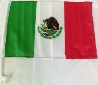 Autofahne Mexiko