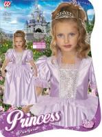 Kinderkostüm Prinzessin Violetta 3 bis 5 Jahre