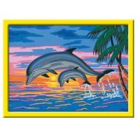 RAVENSBURGER Malset Paradies der Delfine
