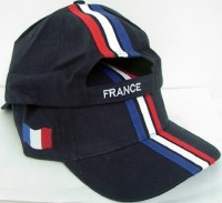 Cap Frankreich dunkel