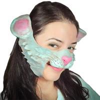 Fasnacht Partymaske Schmusekatze
