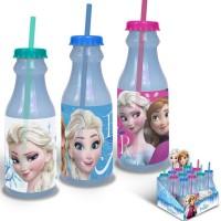 Frozen Frozen Flasche mit Strohhalm ass