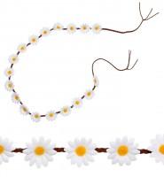 Hippiegürtel Gänseblumen