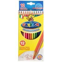 12 Farbstifte farbig Carioca