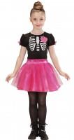 Ballerina Skelett-Kostüm 116cm