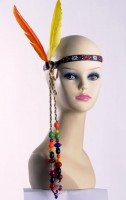 Kopfschmuck Indianer/Hippie