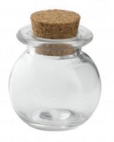 Runde Mini-Flasche