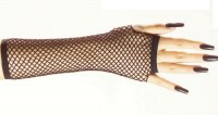 Netzhandschuhe schwarz