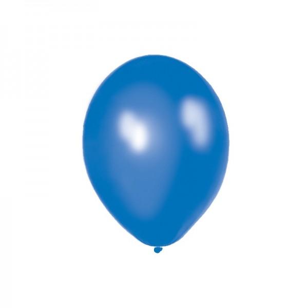 Ballone 50 Stueck 27,5cm Latex blau