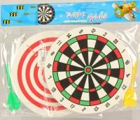 Dartspiel 16cm Ø mit 1 Pfeil Schaumstoff