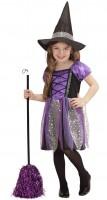 Kostüm Hexe violett 110/116cm