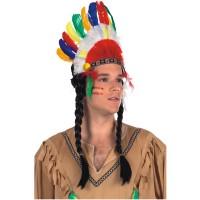 Fasnacht Indianer Schmuck Cherokee
